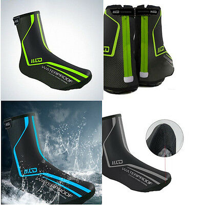 Waterproof Bike Cycling Shoe Covers Warm Cover Rain Protector Overshoes Thermal