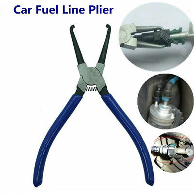 Connector Release Removal Plier Metal Car Fuel Line Petrol Clip Pipe Hose 180mm