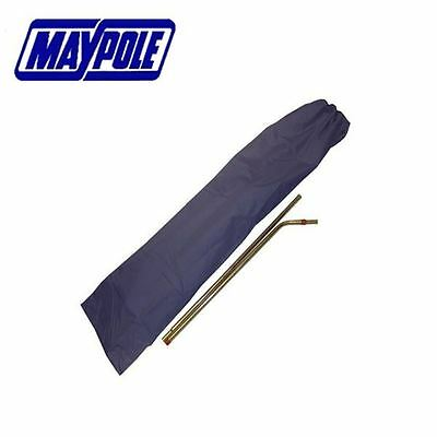 Awning And Tent Pole Storage Bag Pull Cord 150cm X 40cm Blue Bag Maypole MP6624