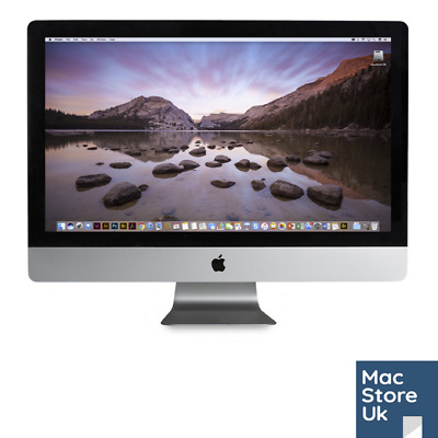 "Apple iMac 27"" 2011 - 3.4GHz i7 - 32GB RAM - 250GB SSD - 1TB HDD"