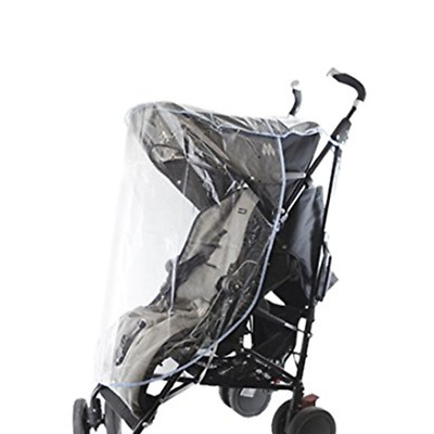 First Steps Baby Transparent Stroller Pushchair Raincover, Wind and Cold Protect