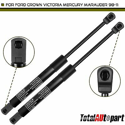 2 Hood Lift Support Strut Rod Replacement Set For Ford Crown Victoria 4550 98-11