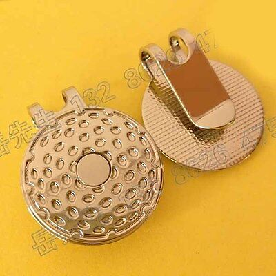 Magnetic Golf Ball Markers Hat clip Magnet Dia 25mm Carve Name Factory Price