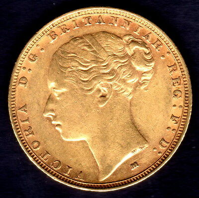 1886 M full Gold Sovereign Great Gift