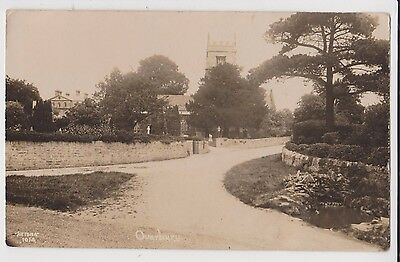 Rp Overbury , Worcestershire Real Photo  Posted 1920