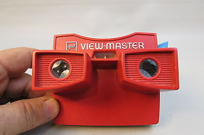 GAF View-Master Model G Viewer Red & White