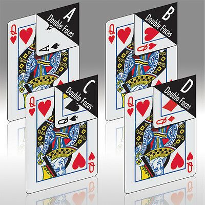 Mazzo di Carte Phoenix Double Faces Deck - Set D - Mazzi di carte