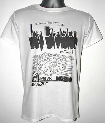 Joy Division t-shirt gig current 93 the cure sisters of mercy fall television