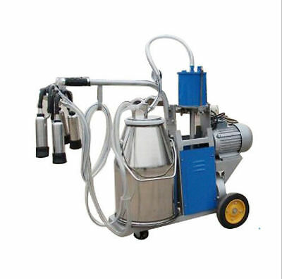 Canada Seller Electric Milking Machine for Cows &25L 304 Stainless Steel Bucket