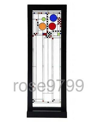 Frank Lloyd Wright Coonley Playhouse Left Window Stained Art Glass Panel
