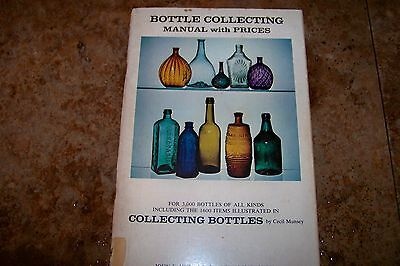 Identification/price Guide Book On Bottle Collecting