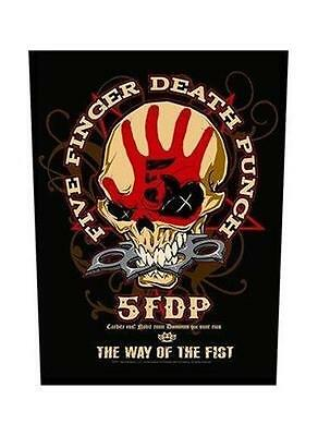 Official Licensed - Five Finger Death Punch - Way Of The Fist Back Patch Metal