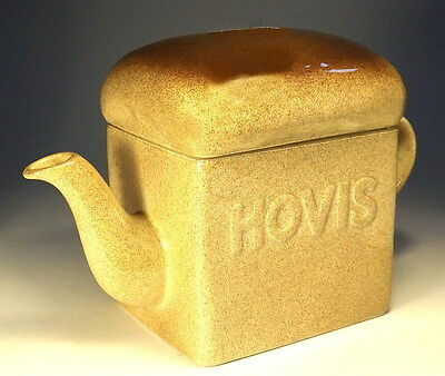 Collectable Carlton Ware Teapot Hovis Bread Design VGC (WH_0214)