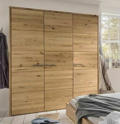 kleiderschrank weiss ultra hochglanz wildeiche massiv neu woody 144 00022 eur. Black Bedroom Furniture Sets. Home Design Ideas