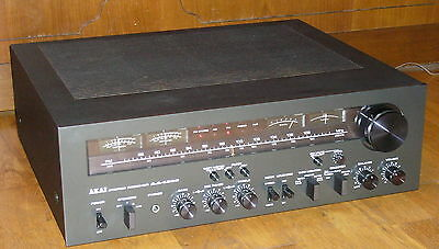 AKAI AA-1200 Vintage Stereo Receiver! A Beauty and very rare! Sehr selten!