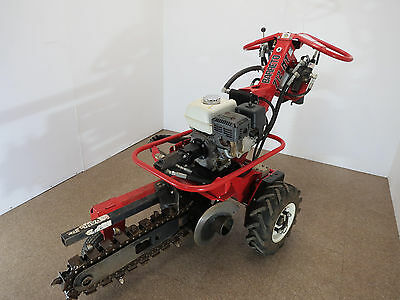 Baretto Self Propelled Hydraulic Mini Trencher- Only 73 hours on it!