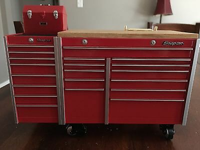 Snap On Die Cast Bank Tool Box Roll Cab Tool Chest RARE Collectible approx 8 in