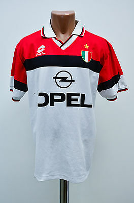 Ac Milan Italy 1994/1995 Away Football Shirt Jersey Maglia Lotto Vintage