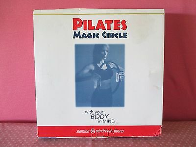 New Pilates Ring Magic Circle For Resistance Toning Includes Instructional Dvd