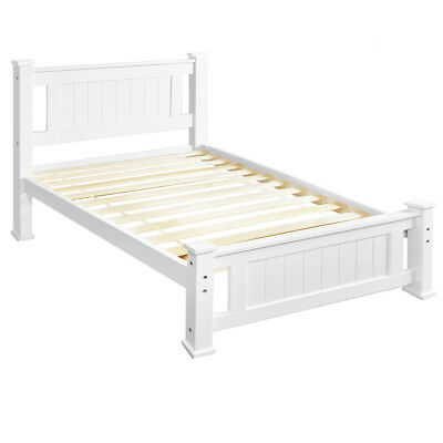NEW Single Pine Wood Bed Frame