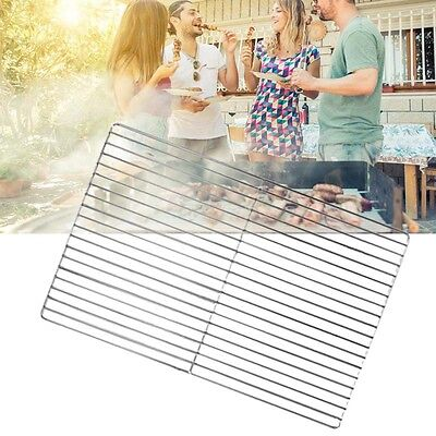 45*30cm Cooking Grill Replacement Stainless Steel Brick BBQ Barbecue Grill