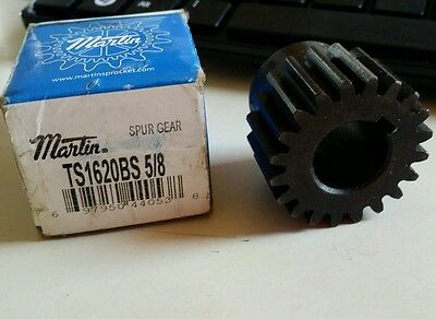 Martin Sprocket TS1620BS ~ 5/8 ~ External Toot Spur Gear ~ 20 Teeth