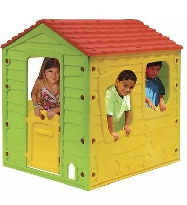 NEW Sizzlin Cool Meadow Cottage Outdoor Play House Wendy House Outdoor