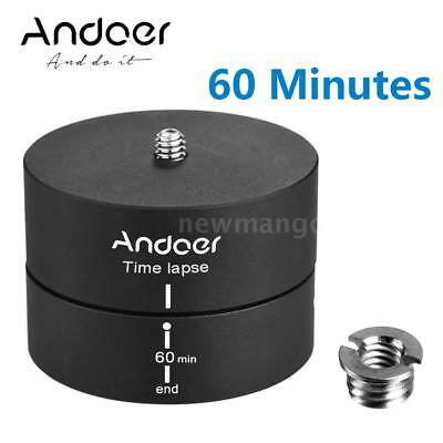 360 Degrees Panning Rotating Time Lapse Stabilizer Tripod Head for Cameras A2F4
