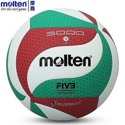 Volleyball Molten Official Size Ball Outdoor Indoor V5m5000 Voleyball Beach Fivb