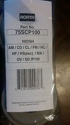 North 75scp100 gas and vapor cartridge
