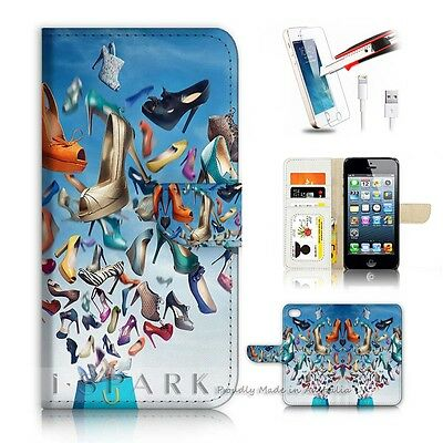 ( For iPhone 5C ) Case Cover AJ20251 High Heel Shoe