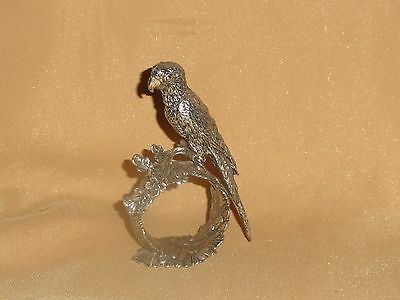 Parrot Reed & Barton 1824 Collection Silverplate Napkin Ring Holder