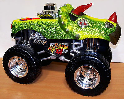 Road Rippers TriSaur x 4 Monster Truck - Lights, Sounds, Moves - Dinosaur