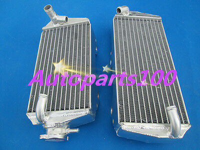 R+L HIGH-PERF FOR SUZUKI RMZ450 2008-2014 ALUMINUM Radiateur radiator