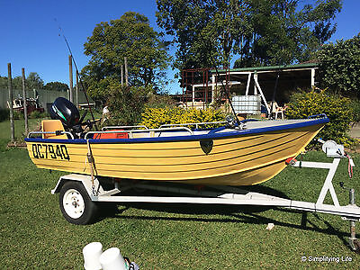 12' Stacer Alloy Craft Tinny