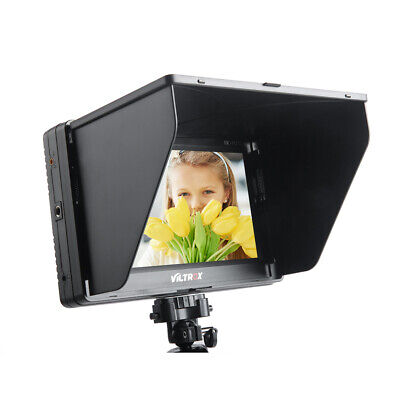 "Viltrox 7"" inch HD LCD Video Field Monitor Display Screen AV DSLR Camera US J4E9"