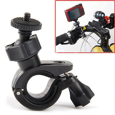 Bike Motorcycle Handlebar Mount Tripod Holder Sport Camera Holder