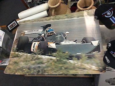 Vintage Hans Joachim Stuck - March-Ford Formula One 1974 Poster