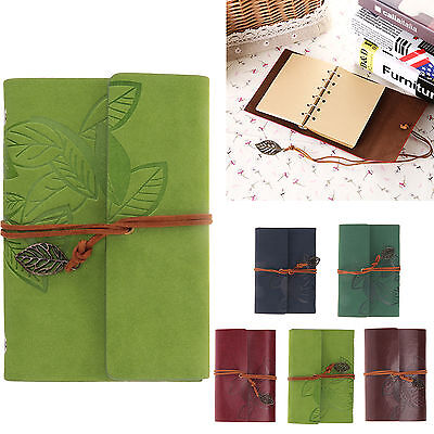 Classic Retro Multi Notebook Leather Blank Diary Note Book Journal Sketchbook
