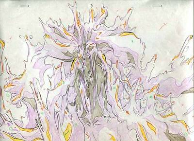 Anime Genga not Cel Vampire Hunter D 2 pages #1286