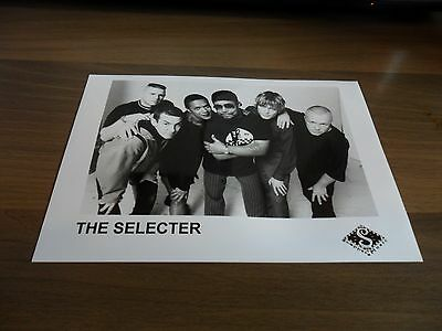 THE SELECTER PROMO PHOTO 7'' x 5''