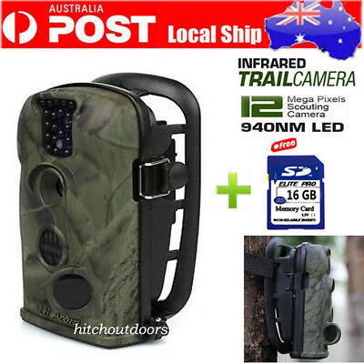 Hunting Camera 12MP LTL Acorn 5210A Infrared LED Scouting Game Trail Cam W/ 16GB