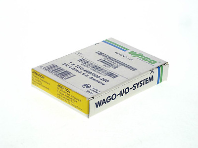 WAGO 750-466/000-200 -FS- ; Wago I/O System:  2AI  4-20mA  SINGLE ENDED