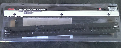• SIEMON 10G ip / 10G 6 HD PATCH PANEL 24-Port 10GHD-24 HD-Series -NEW- #GO