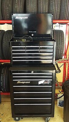 Snap On Black Tool Box Roll Cab And Top Box