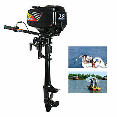Outboard Motor 3.6 HP Inflatable Fishing Boat Engine+CDI Water Cooling SYSTEM DE