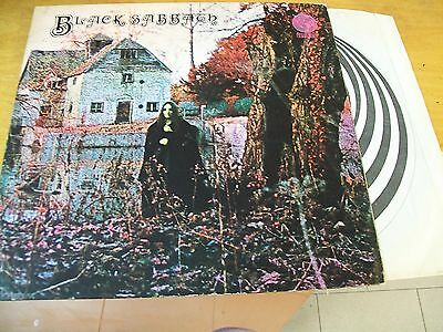 Black Sabbath Omonimo  Lp Vertigo  Uk Raro