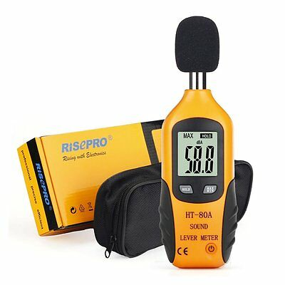 Sound Level Meter, RISEPRO® Digital Decibel Meter Audio Noise Measure Device
