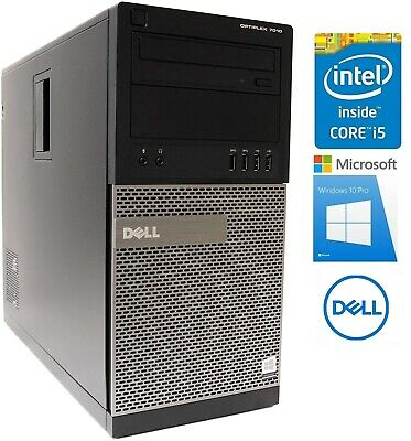 HP COMPAQ 6200 PRO Microtower Intel i5-2500 3,3 GHz 500 GB HDD 8 GB Ram Win 10