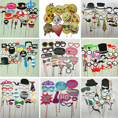 Photo Booth Props Photography Mustache On A Stick Fun Wedding Birthday Party
